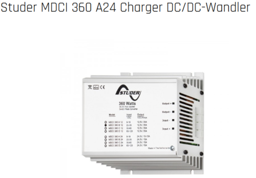 Spannungswandler MDCI 360 A24 Charger